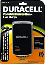 Duracell Duracell Du7131 1,800mah Portable Powerbank With Ac Charger - Other Chargers - Retail Packaging - Black