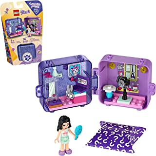 LEGO Friends Emma's Play Cube 41404 Building Kit, Includes Collectible Mini-Doll for Imaginative Play, New 2020 (36 Pieces)
