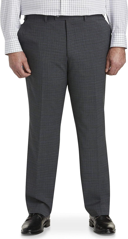 Jack Victor Reflex Deco Check Suit Pants, Grey/Blue