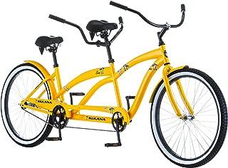 "Kulana Lua Single Speed Tandem 26"" wheel, Yellow, 17"
