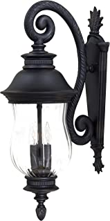 Minka Lavery Outdoor Wall Light 8902-94 Newport Aluminum Exterior Wall Lantern, 120 Watts, Heritage