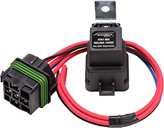 Fastronix 50/30 Amp Weatherproof Automotive Relay and Socket Kit
