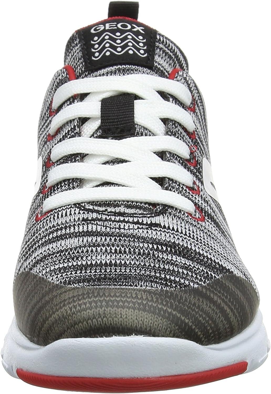 Geox Boys/' J Xunday L Low-Top Sneakers