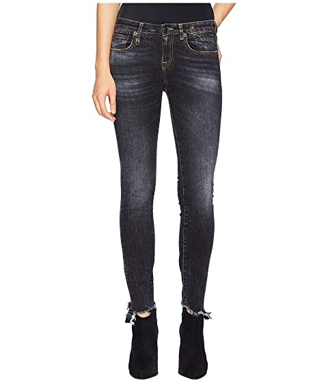 R13 Alison Skinny with Uneven Hem