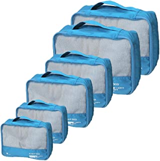 أفضل صناديق التعبئة مجموعة السفر منظمات الأمتعة حقيبة السفر اكسسوارات السفر