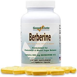 Good State - Berberine HCL (400 mg) (120 Veggie Capsules)