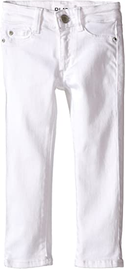 DL1961 Kids Chloe Skinny Jeans in Snow (Toddler/Little Kids)