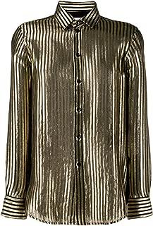 Luxury Fashion | Saint Laurent Womens 395733Y232E1081 Bronze Shirt | Autumn-Winter 19