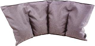 Stor körsbärskärnkudde 4 kammar 50 x 20 cm för värmebehandling eller kylbehandling även som värmekudde, värmekudde, avslap...