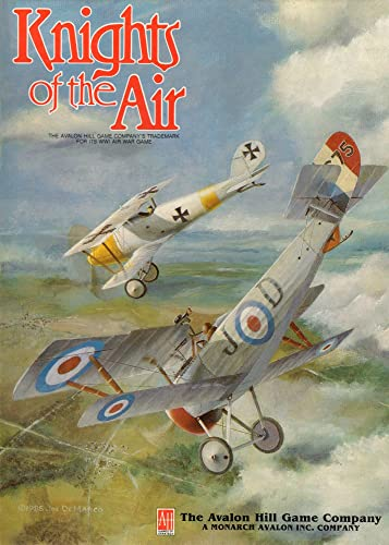 Knights of the Air  Game of Deadly Combat in the World War I Air War [BOX SET] by Avalon Hill