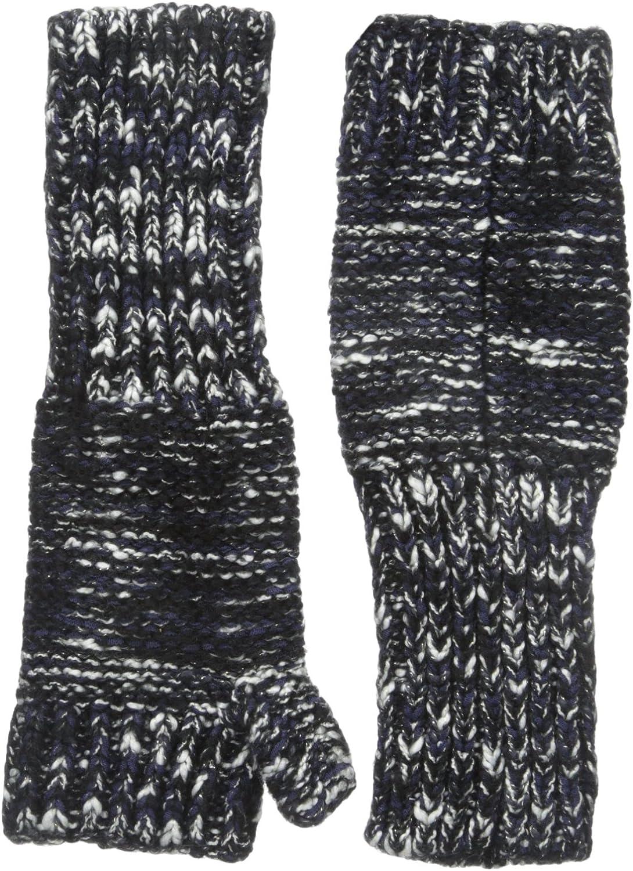 Genie by Eugenia Kim Women's Stef Marled Metallic Fingerless Gloves