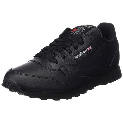 a6fc763f609 Reebok Unisex Kids  Classic Leather Trainers