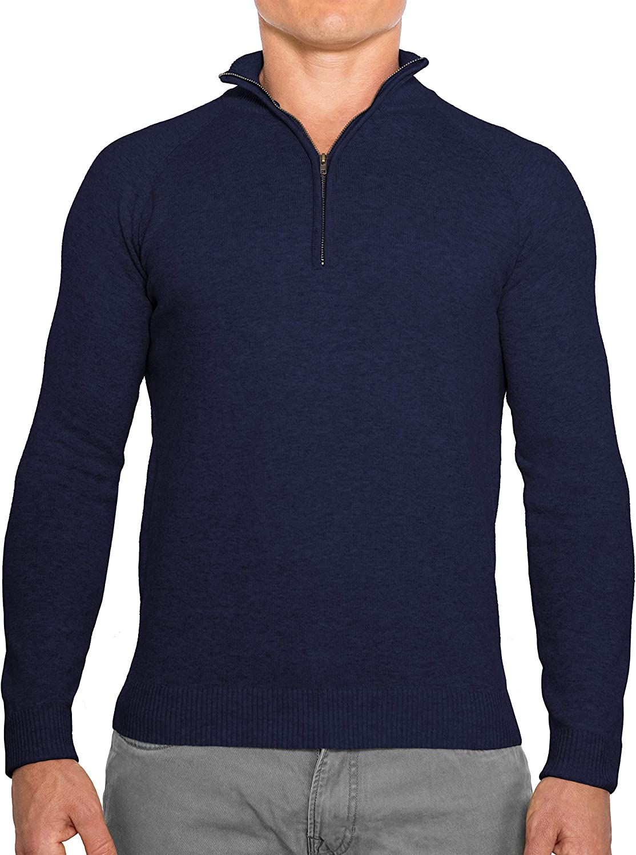 CC Perfect Slim Fit 1 4 OFFicial Zip Max 69% OFF Pullover Wash Quarter Durable Men