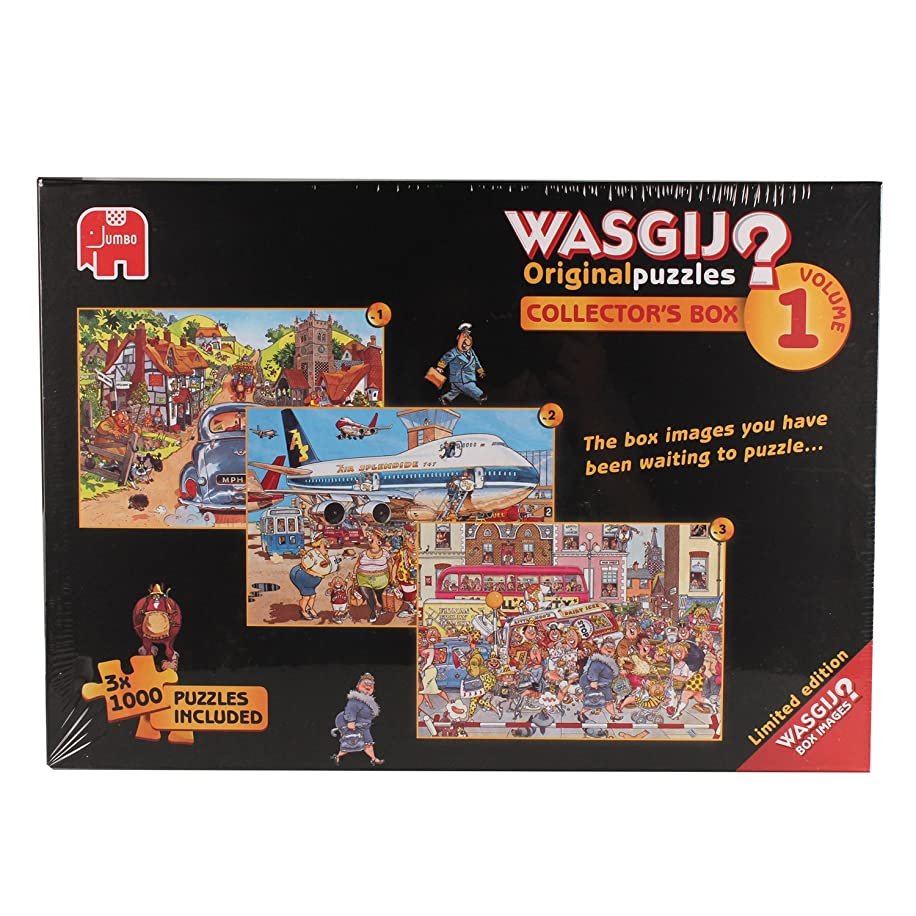 Wasgij Limited Edition Original Collector's Box Jigsaw Puzzles (1000 Pieces/ Pack of 3)