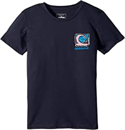 Quiksilver Kids - Short Sleeve Anti UV Dens Way Tee (Toddler/Little Kids)