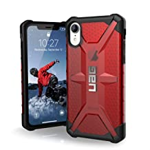 URBAN ARMOR GEAR UAG iPhone XR [6.1-inch Screen] Plasma Feather-Light Rugged [Magma] Military Drop Tested iPhone Case