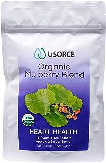 USDA certified white mulberry tea bags organic, sugar controller tea with sugar free, Weight Loss, blood sugar control, diabetic tea, caffeine free