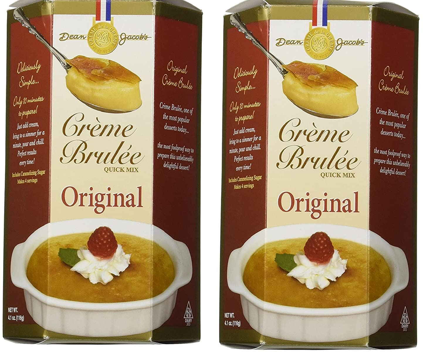 Dean Jacob's Max 63% OFF Creme Brulee Quick Xcell Max 49% OFF 4.1oz Mix M