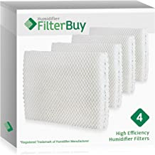 FilterBuy Replacement Humidifier Wick Filters Compatible with Vornado MD1-0001, MD1-0002, MD1-1002. Pack of 4.