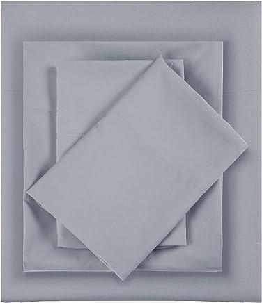Intelligent Design Microfiber All Season Wrinkle-Free Sheet Set Grey Queen