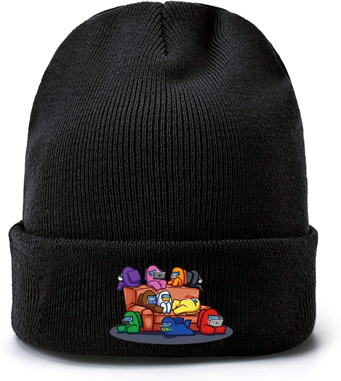 Among Us Crewmate Beanie Knit Hat-Imposter Game Unisex Adult Kids Skully Cap