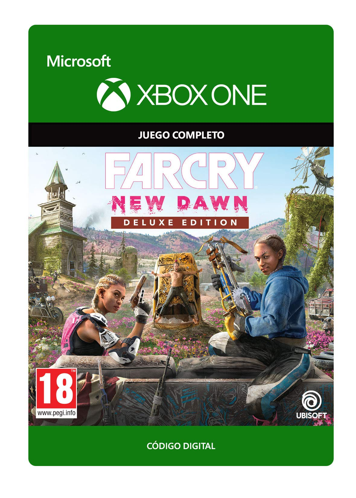 Far Cry New Dawn: Deluxe Edition | Xbox One - Código de descarga: Amazon.es: Videojuegos