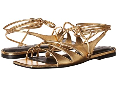 Sigerson Morrison Faune (Gold Leather) Women