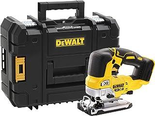 Dewalt DCS334NT-XJ DCS334NT-XJ-Sierra de Calar sin escobillas XR 18V, Black/Yellow, Size