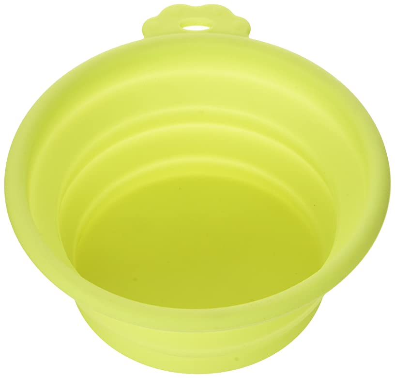 Doskocil Petmate 23368 Silicone Round Travel Bowl Pets,