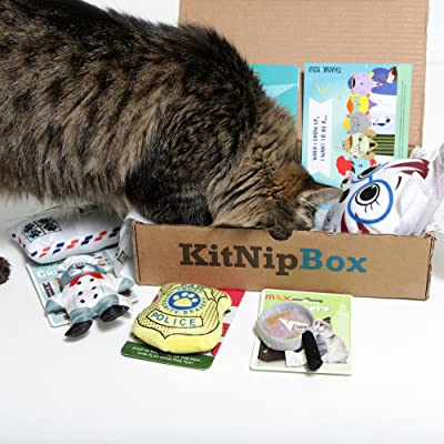 KitNipBox - Monthly Cat Subscription Box of Cat Toys, Treats and Goodies: Multi-Cat