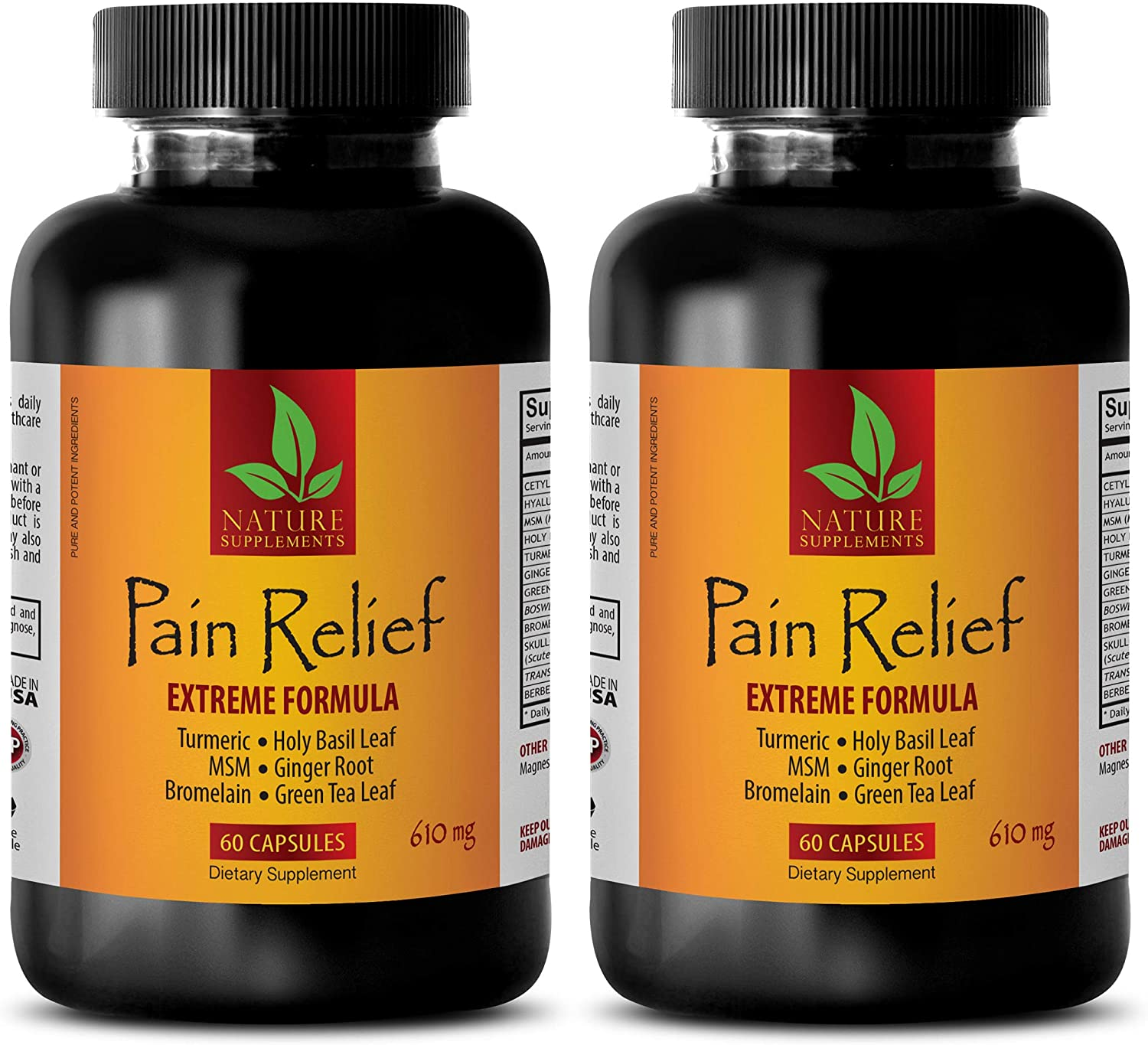 Anti inflammatory Supplement Back Pain Ext - 610MG famous OFFicial Relief
