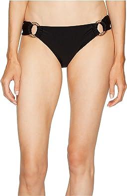 Scoop Bikini Bottom w/ Ring Detail