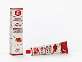 De Rica Premium | 100% Italian Sourced | Double Concentrated Tomato Paste | 12 Pack (4.6 Oz)