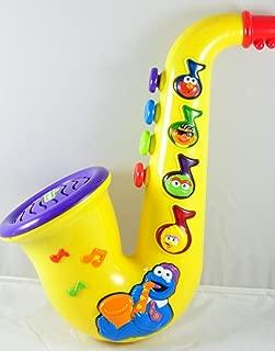 Sesame Street Cookie Monster Musical Saxophone