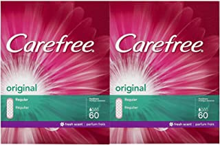 Carefree Original Pantiliners, Scented - 60 ct - 2 pk
