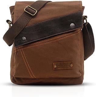 FANDARE Vintage Mensajero Messenger Bag Crossbody Bolso Bandolera Shoulder Bag Estudiante Viaje Trabajo Escuela Bolso Homb...