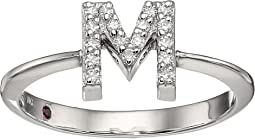 Tiny Treasure Initial M Love Letter Ring