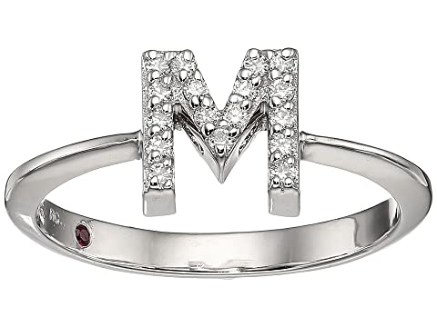 Roberto Coin Tiny Treasure Initial M Love Letter Ring