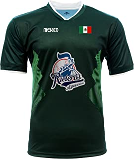 Jersey Mexico Rieleros de Aguascalientes 100% Polyester_Made in Mexico