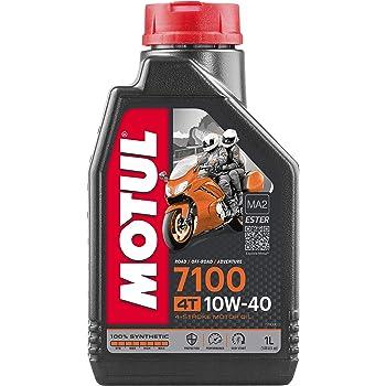 Motul 7100 4T 10W-40 Synthetic Oil 1 Liter (104091)