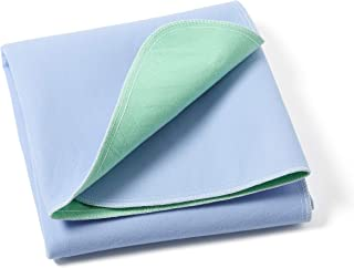 Medline Quick Dry Washable Underpads, Large Bed Pads 34