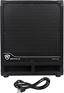 Rockville New RBG12S Bass Gig 1400 Watt Active Powered PA Subwoofer DJ/Pro, 12 inch
