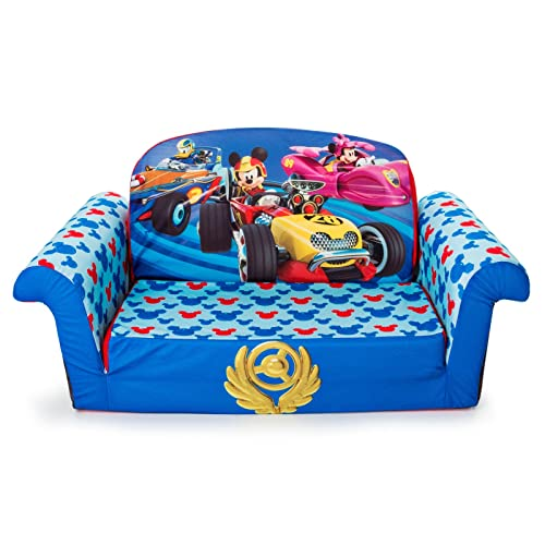 Marshmallow Furniture, Children's 2-in-1 Flip Open Foam Sofa