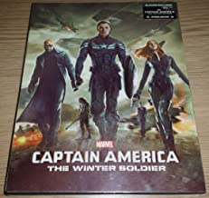 CAPTAIN AMERICA: THE WINTER SOLDIER [3D Blu-ray + 2D Blu-ray BLUFANS Steelbook LENTICULAR Edition; Region-Free; Sold Out]