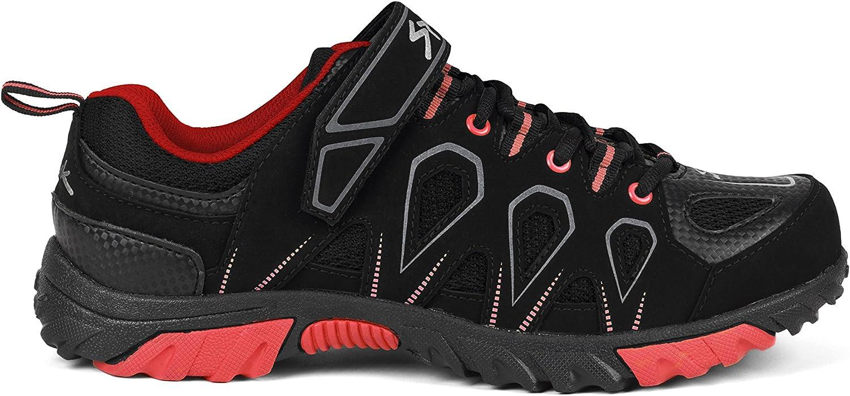 shoes spiuk mtb black red - zlinze01-41 - 41