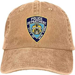 New York City Police Department Dad Gorra de béisbol ajustable