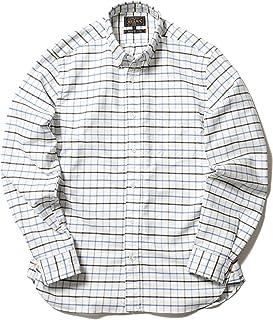 [ビームス] ワイシャツ カジュアルシャツ PLUS ストレッチオックスフォード タッタソール ボタンダウンシャツ メンズ