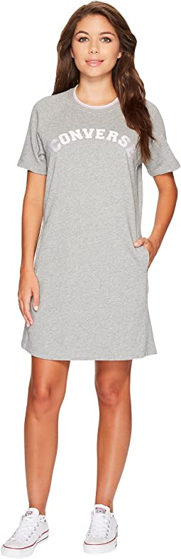 Converse - Satin Trim Sweatshirt Dress