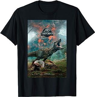 Jurassic World: Fallen Kingdom T-Rex Poster T-Shirt