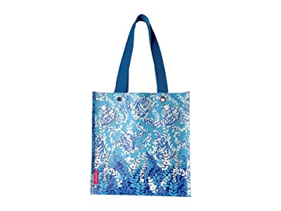 Lilly Pulitzer Market Shopper (Turtley Awesome) Tote Handbags